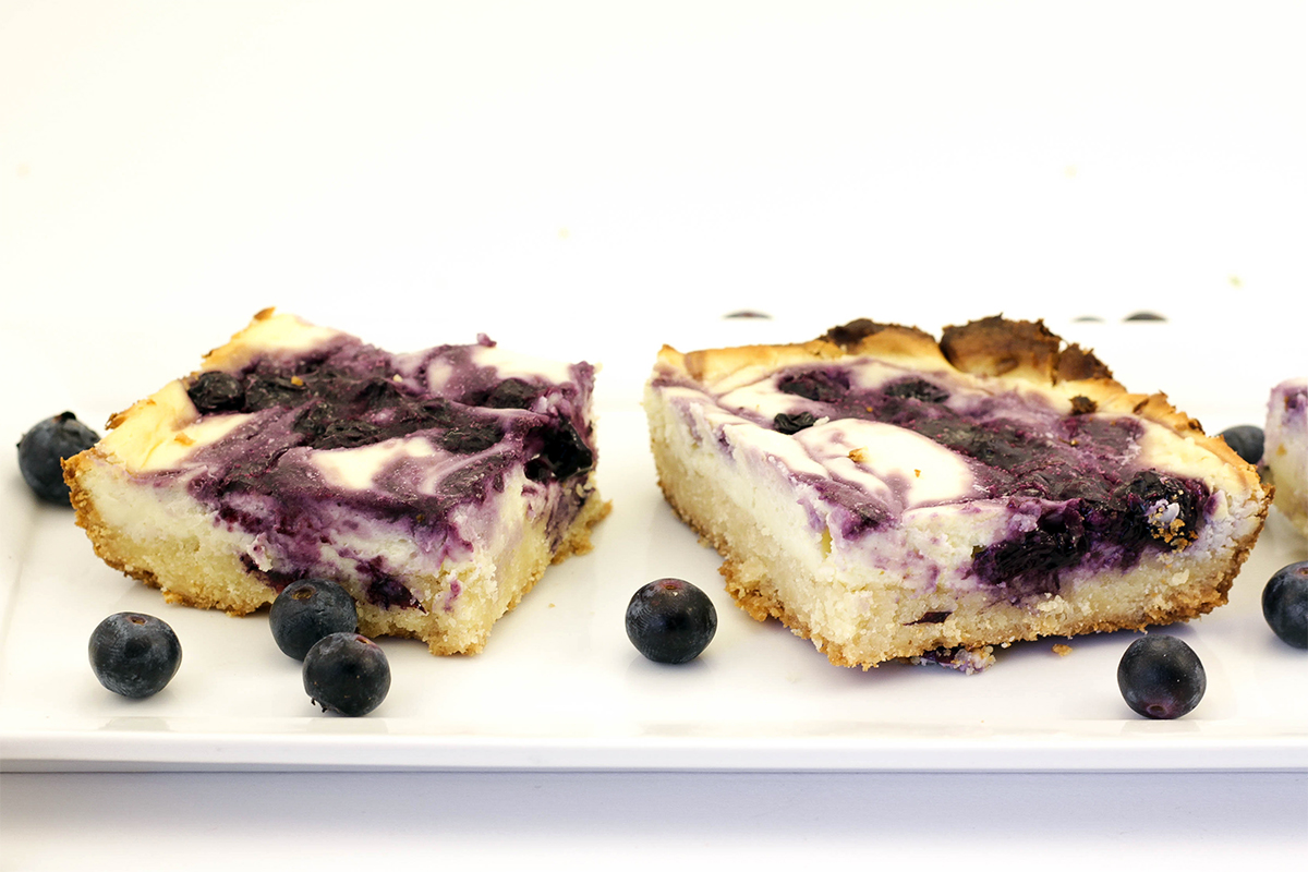 Blueberry Cheesecake Bar