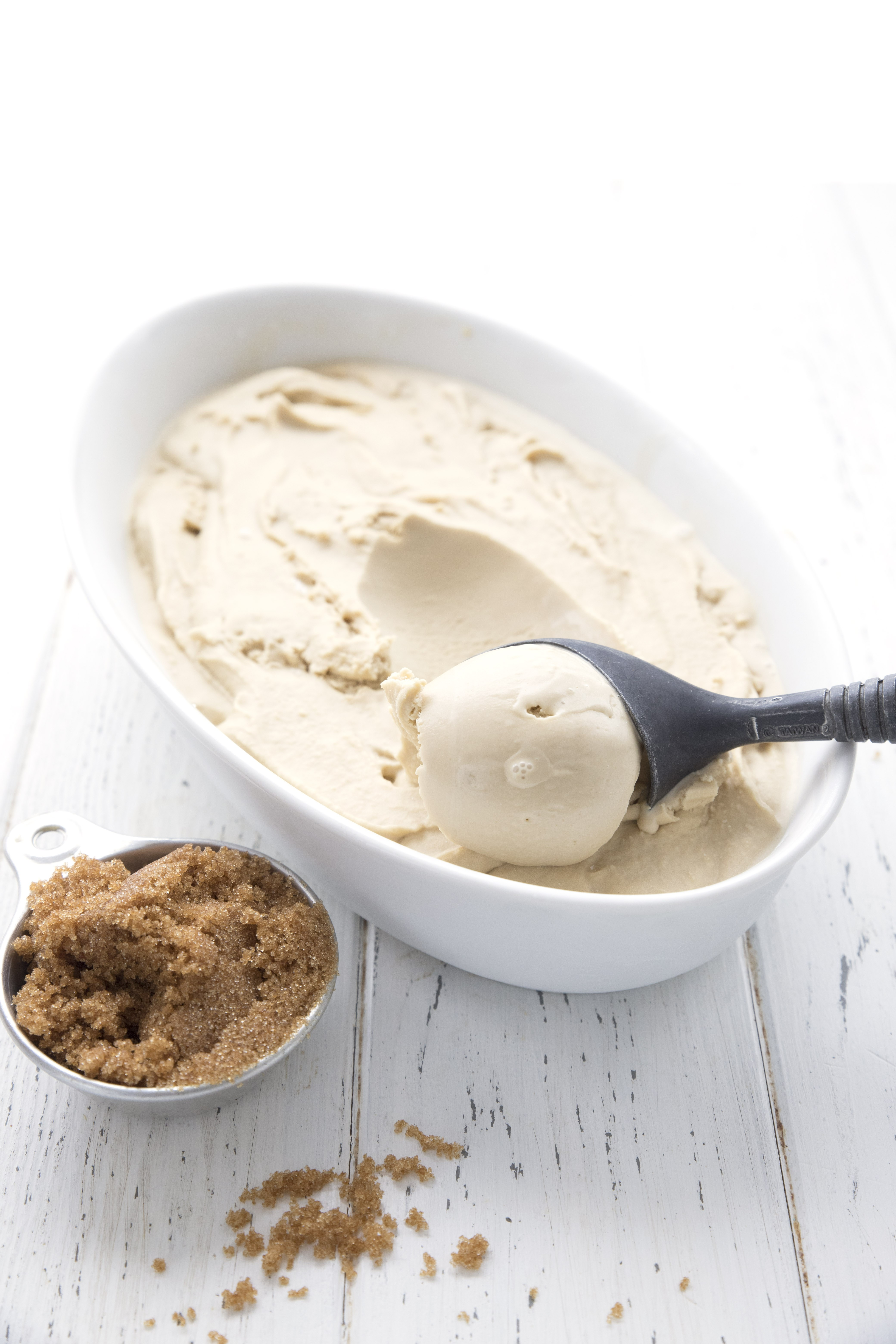 Brown Sugar Bourbon Ice Cream