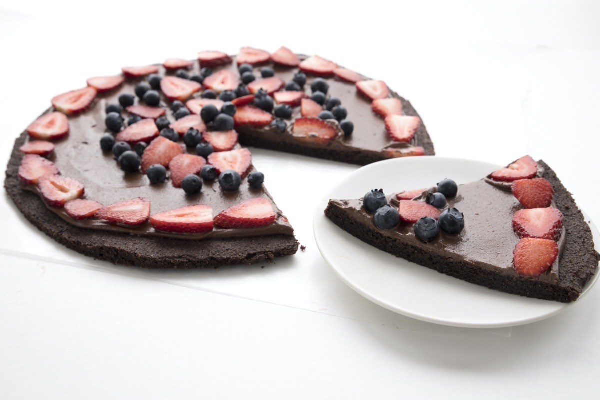 Brownie Pizza 5