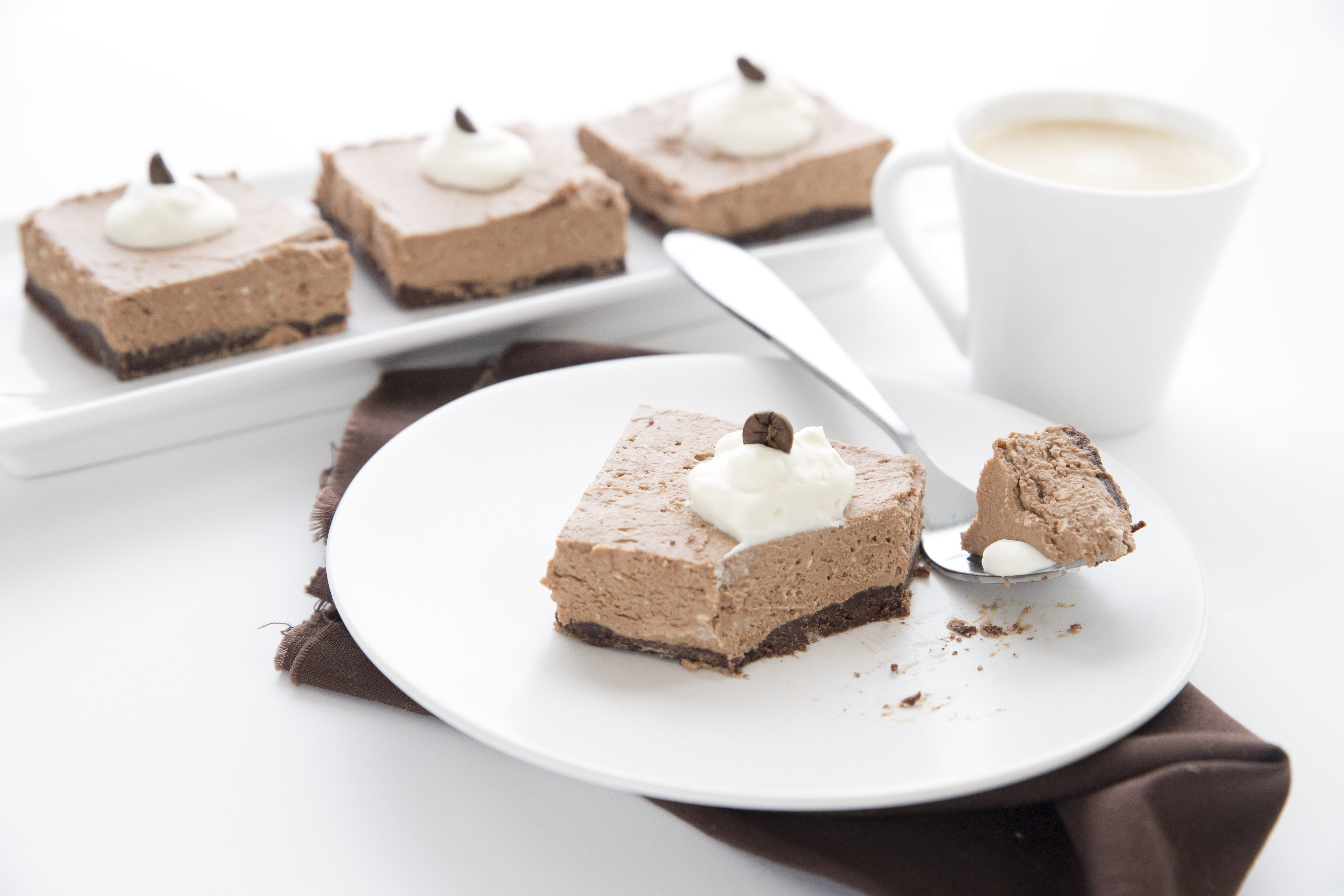 Frozen Mocha Mousse Bars 6