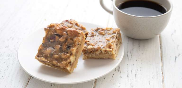 Hazelnut Shortbread Bars 3 1