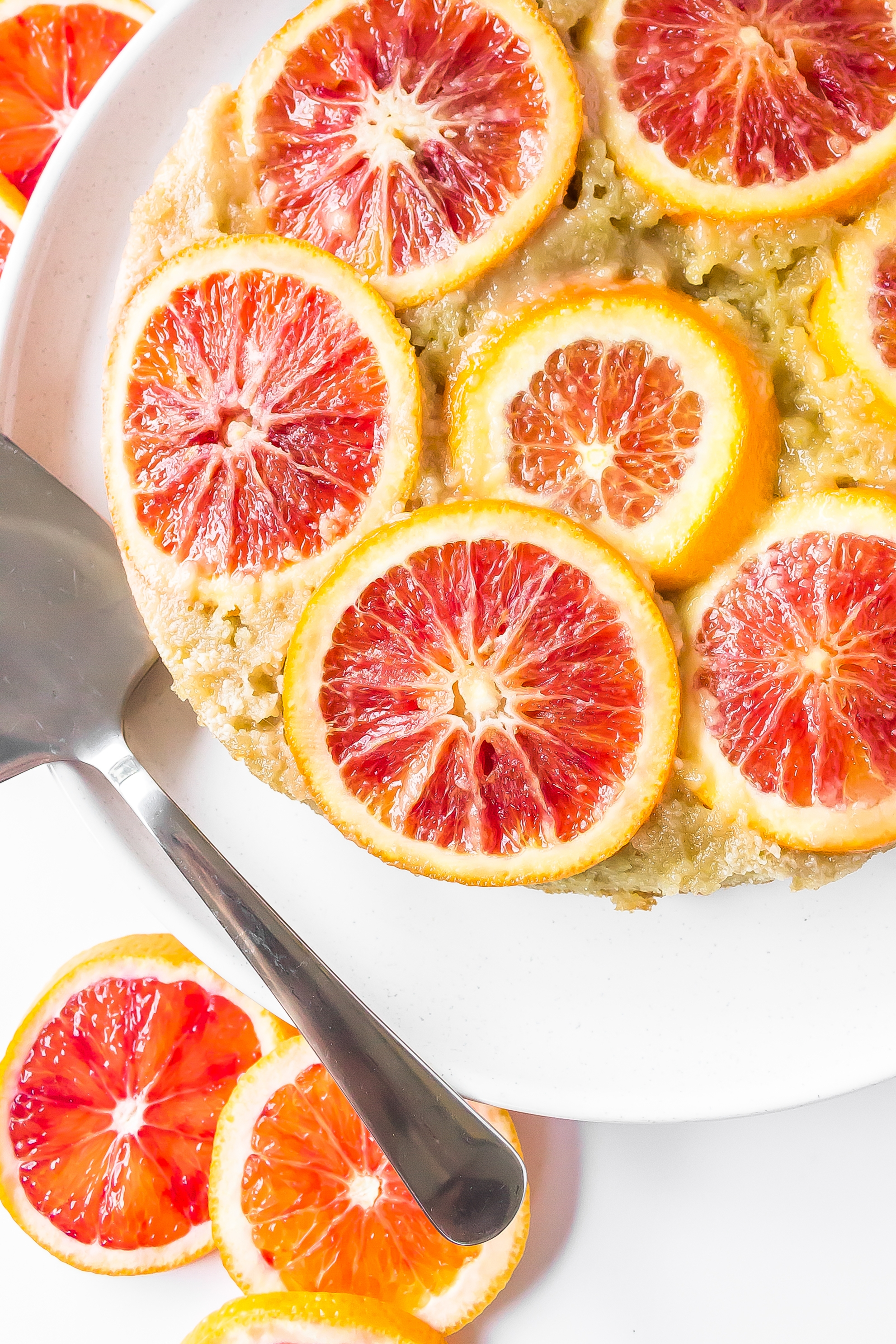 Blood Orange Upside Down Cake 2 70