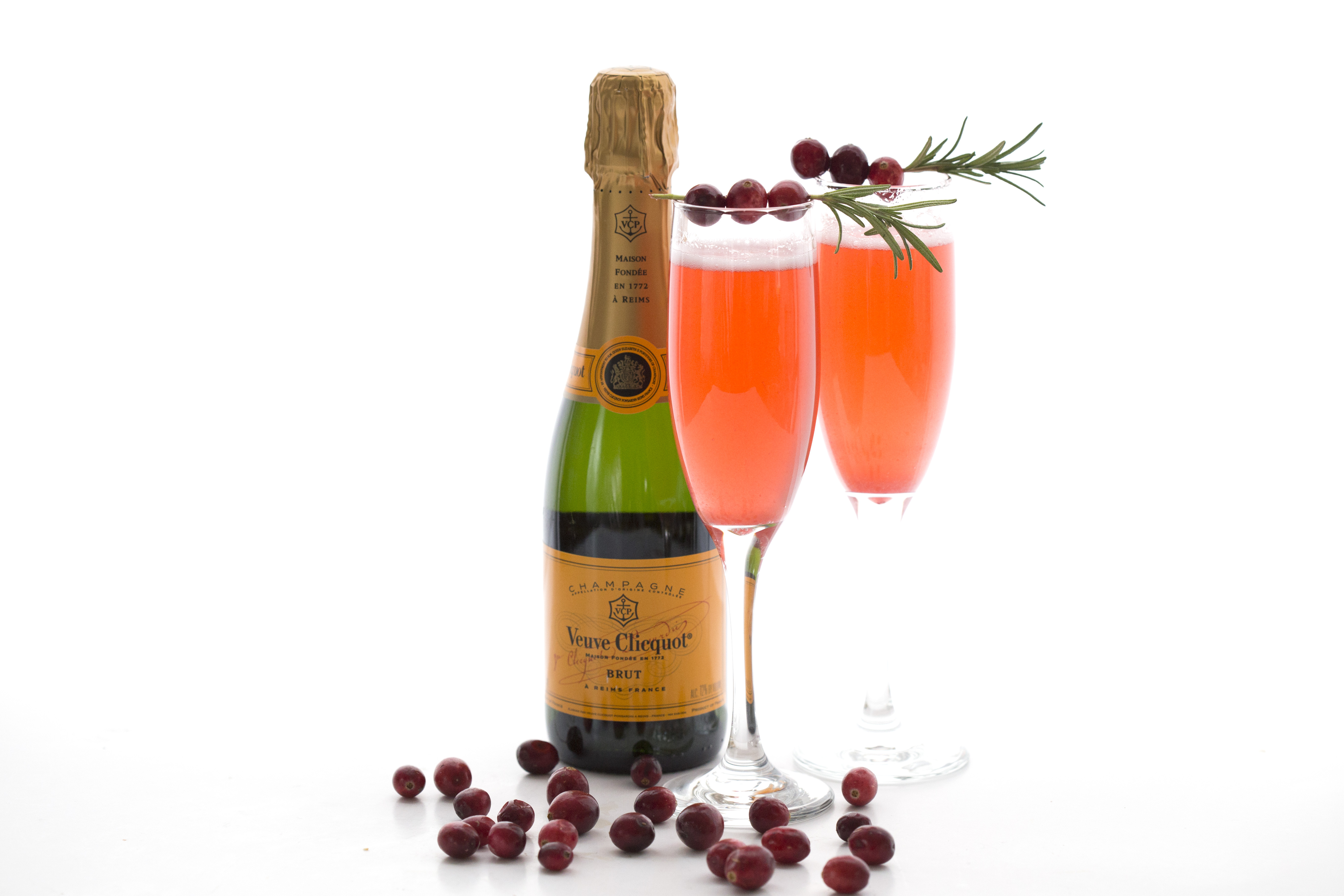 Cranberry Champagne Sparklers 4