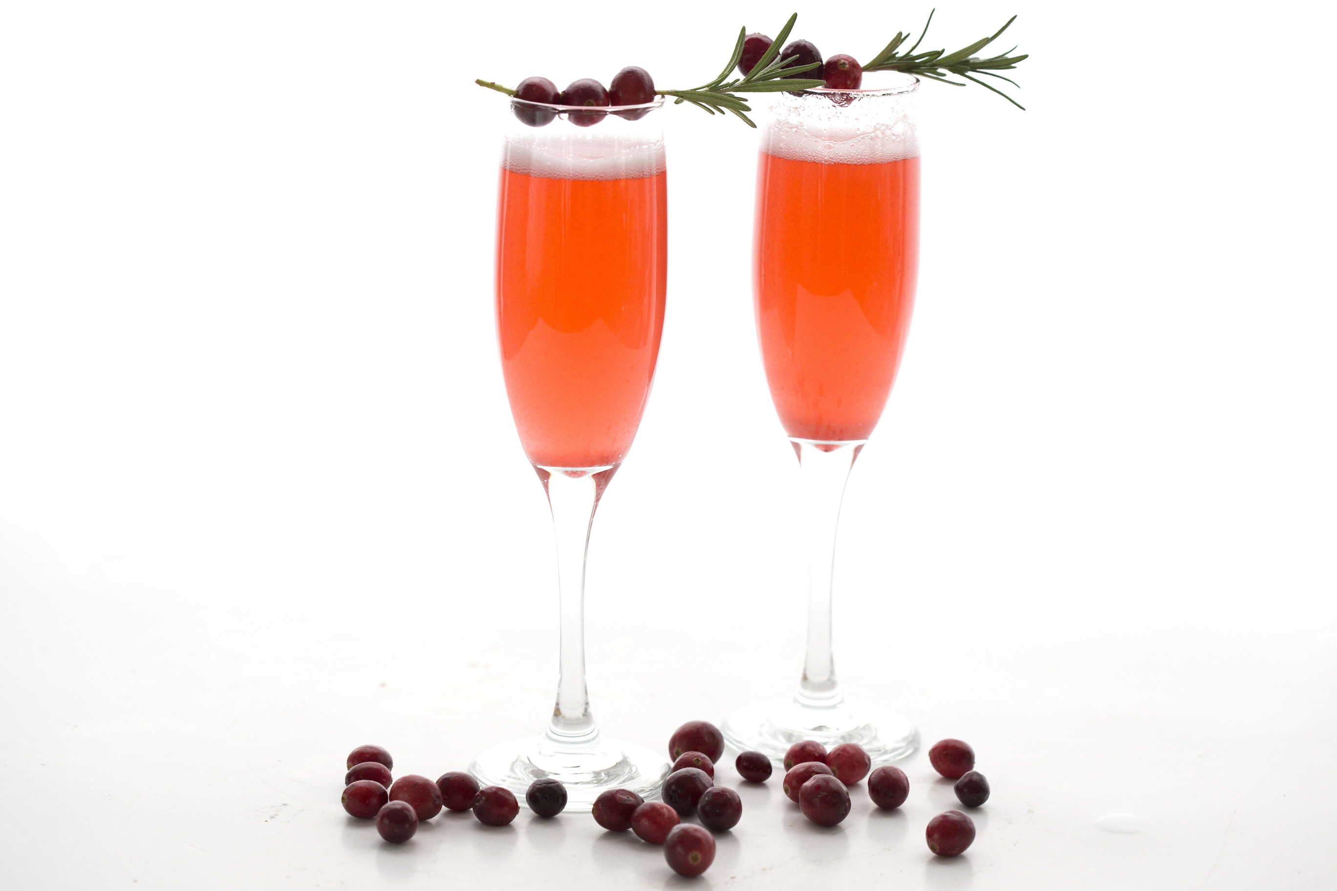Cranberry Champagne Sparklers 2