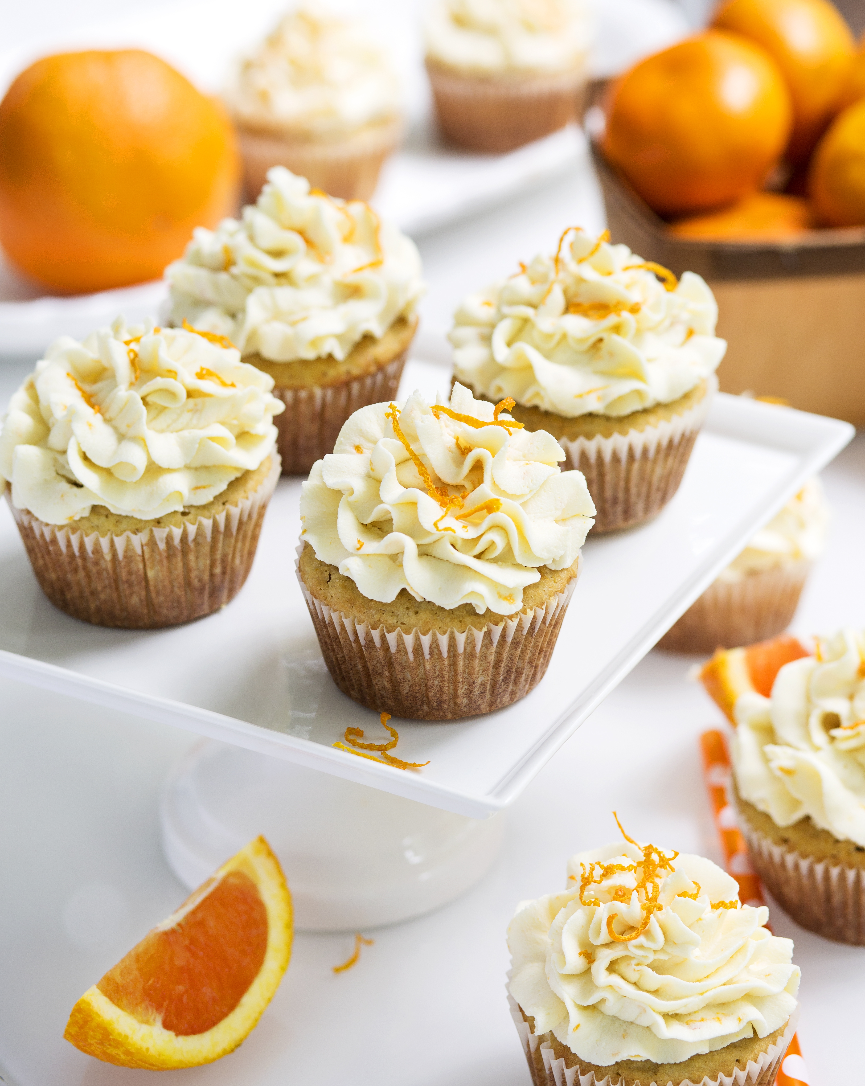 Gluten Free Orange Creamsicle Cupcake Recipe