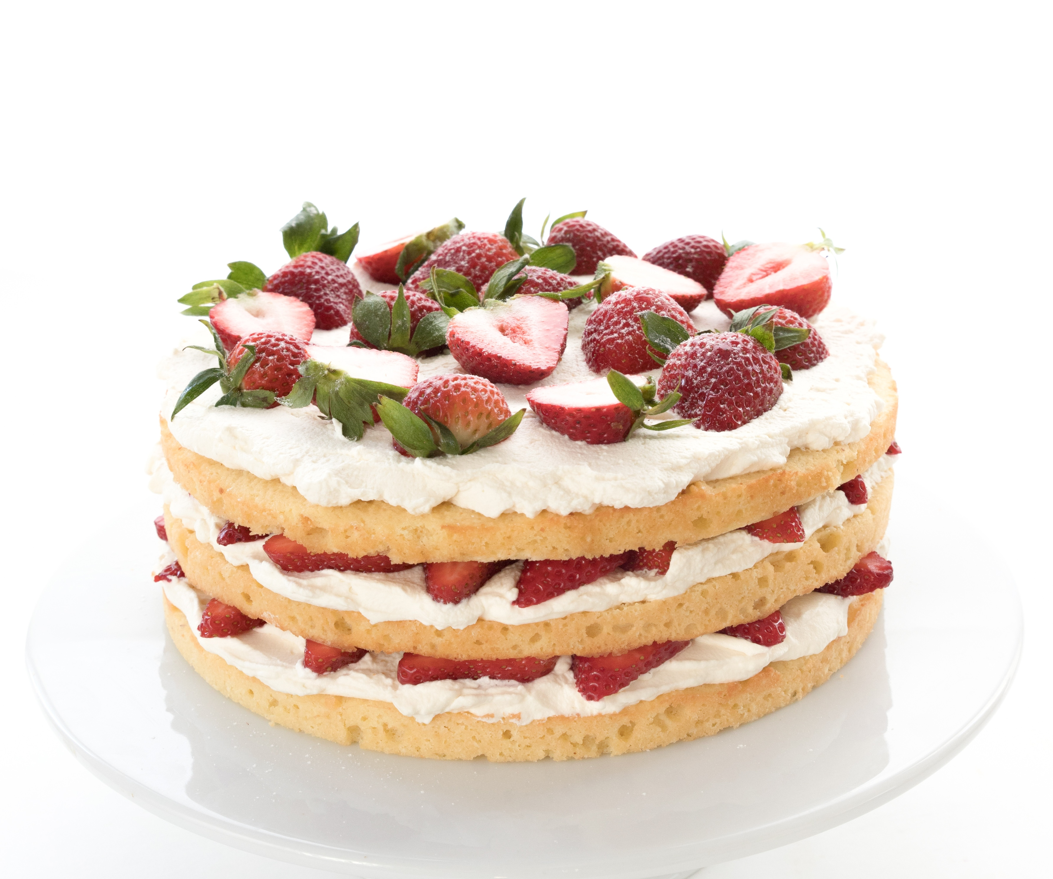Strawberries And Cream Cake 2