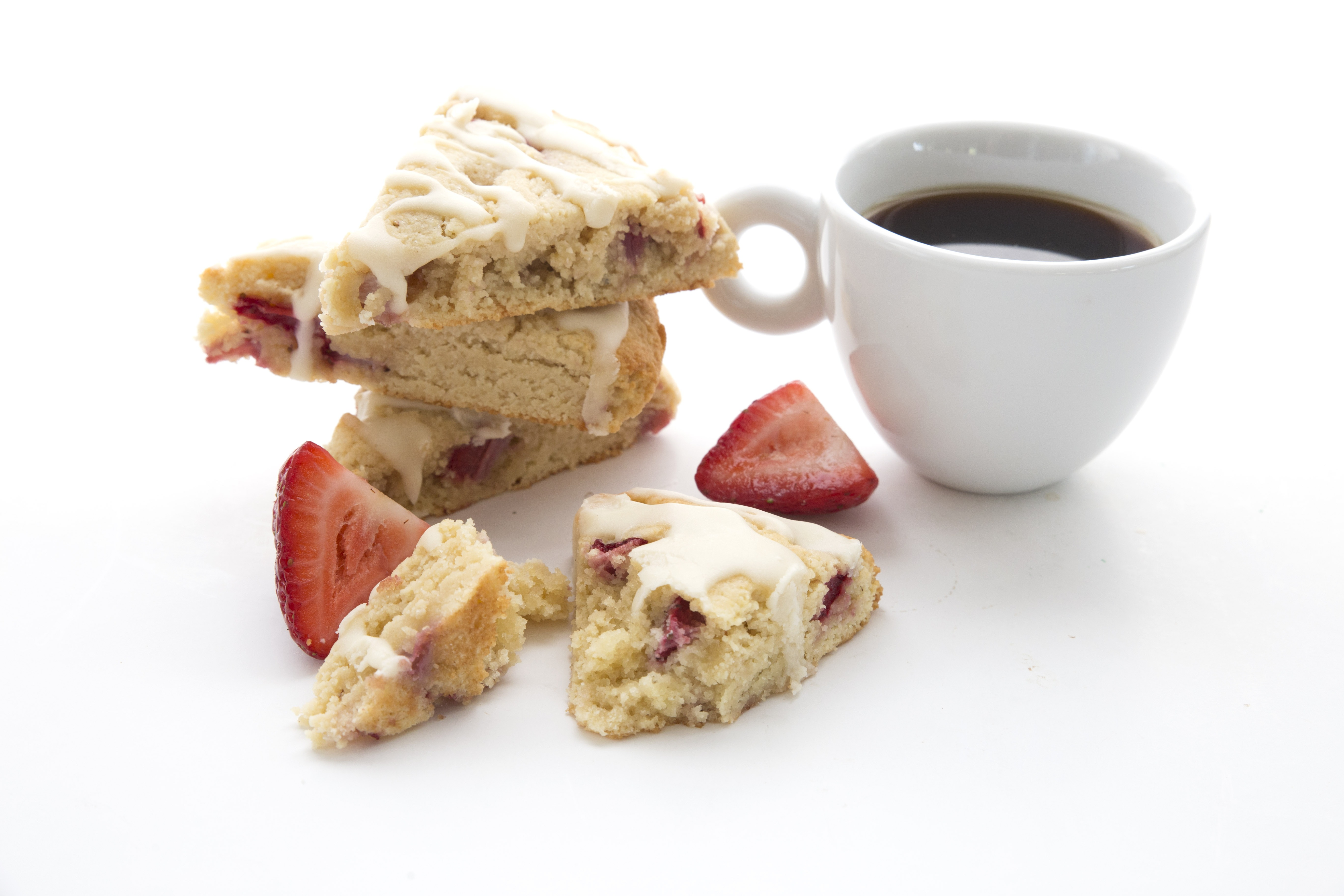 Strawberries And Cream Scones 4
