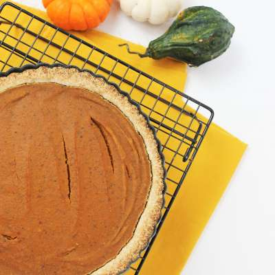 Avegan Coconut Pumpkin Pie 3