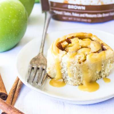 Caramel Apple Cinnamon Rolls 3