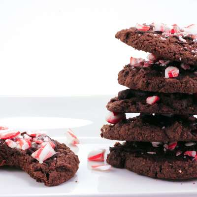 Choc Peppermint Cookies Web