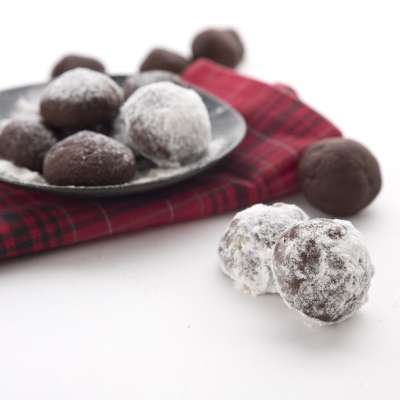 Chocolate Peppermint Snowballs 6