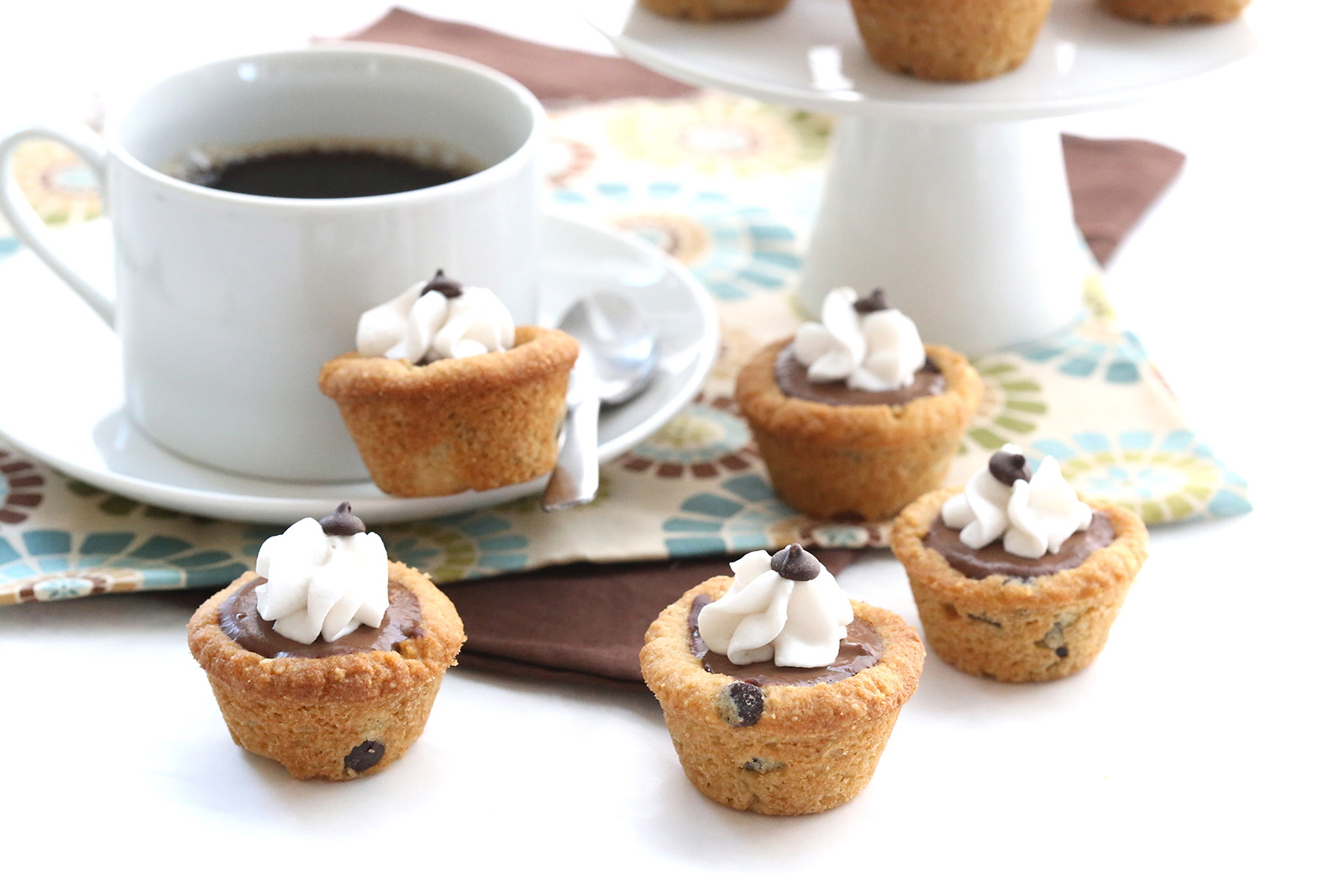 Chocolate Chip Cookie Pudding Cups