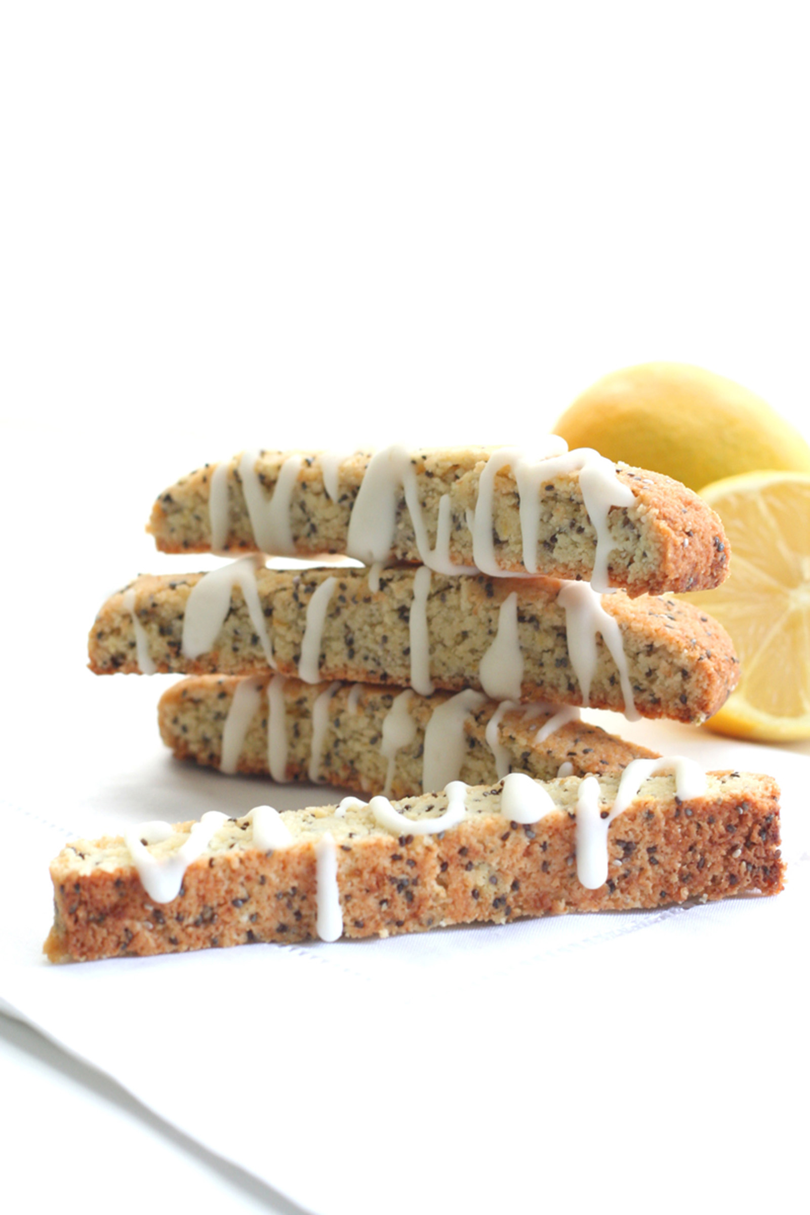 Lemon Poppyseed Biscotti