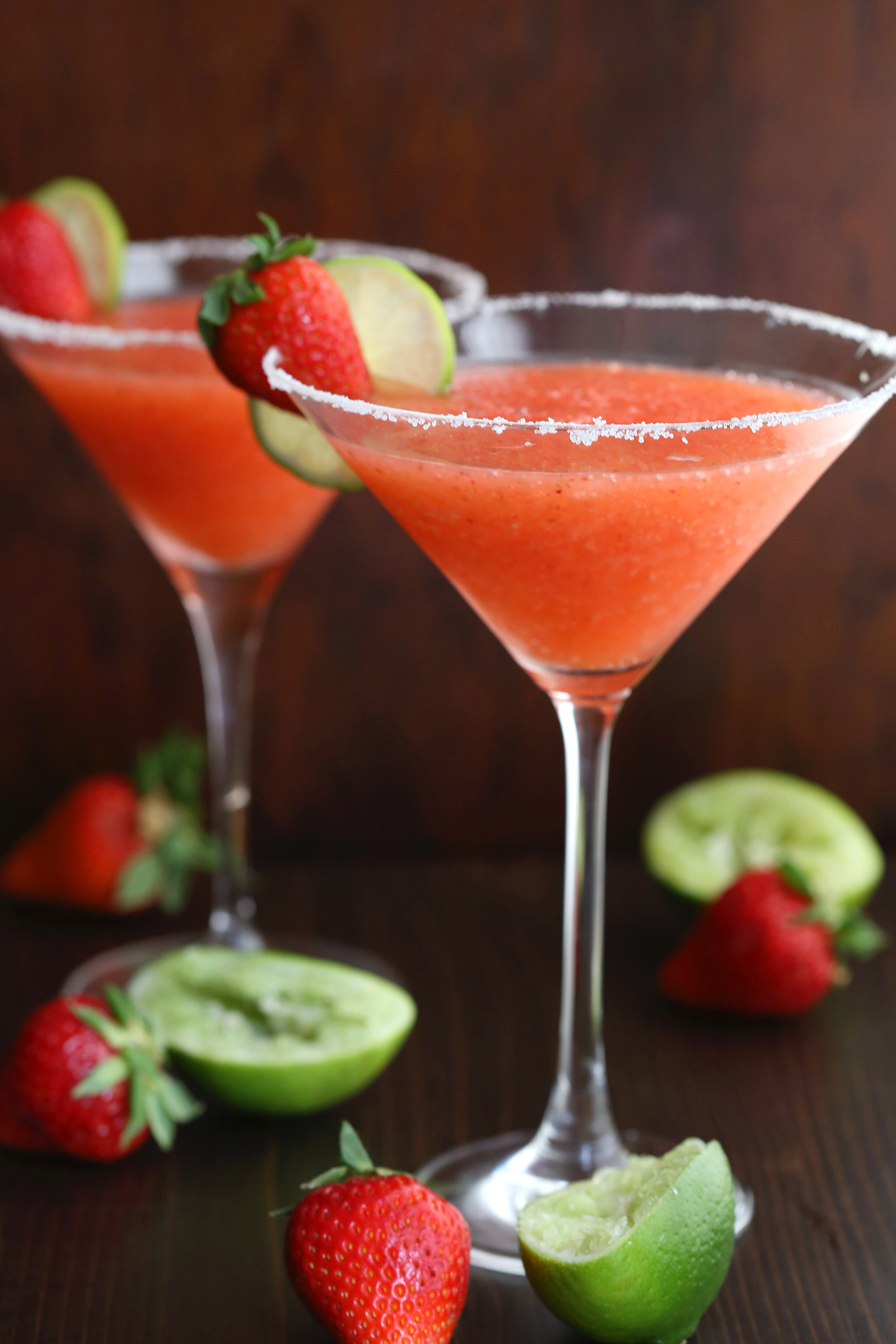 Strawberry Margaritas Recipes Swerve