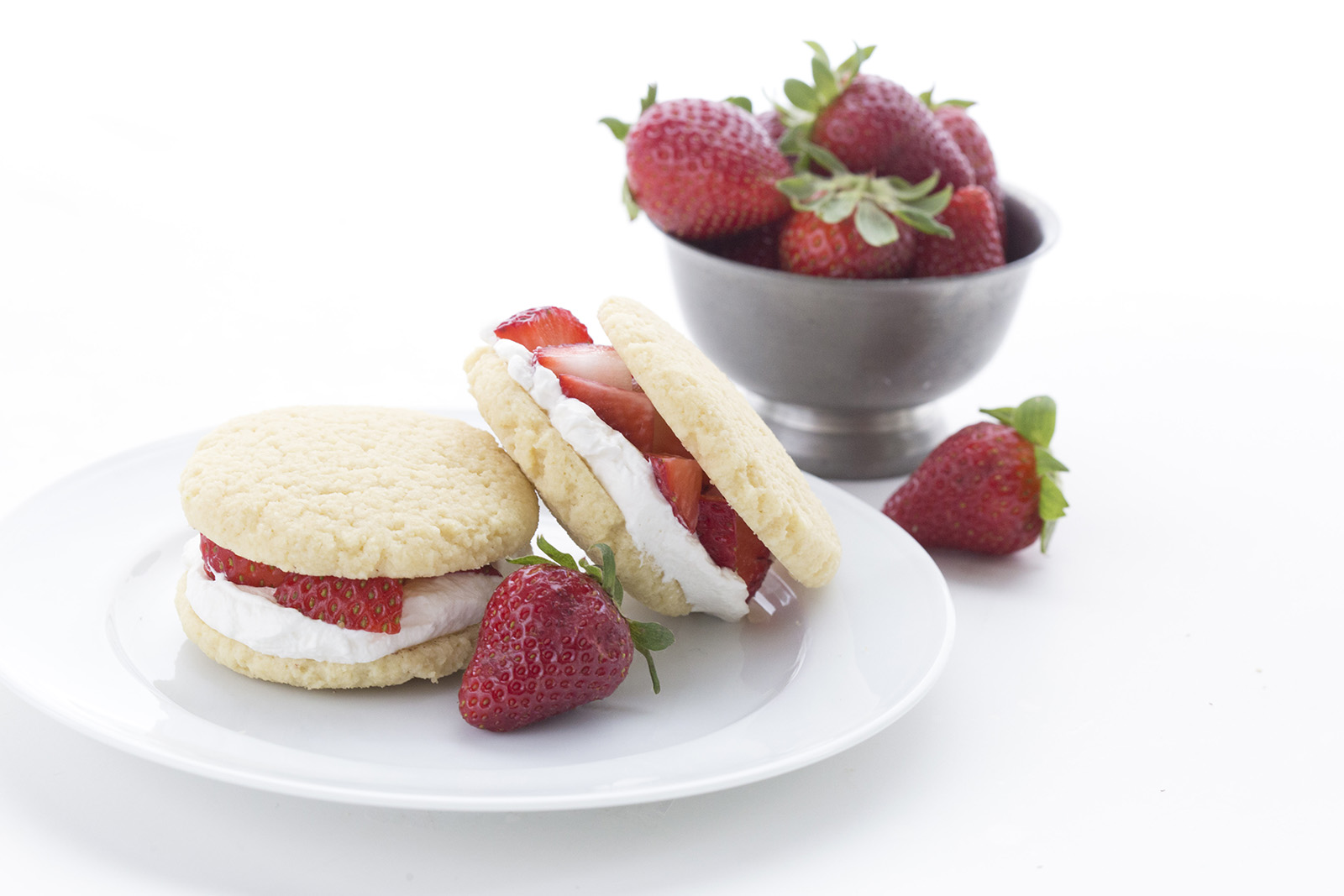 Strawberry Shortcake Whoopie Pies