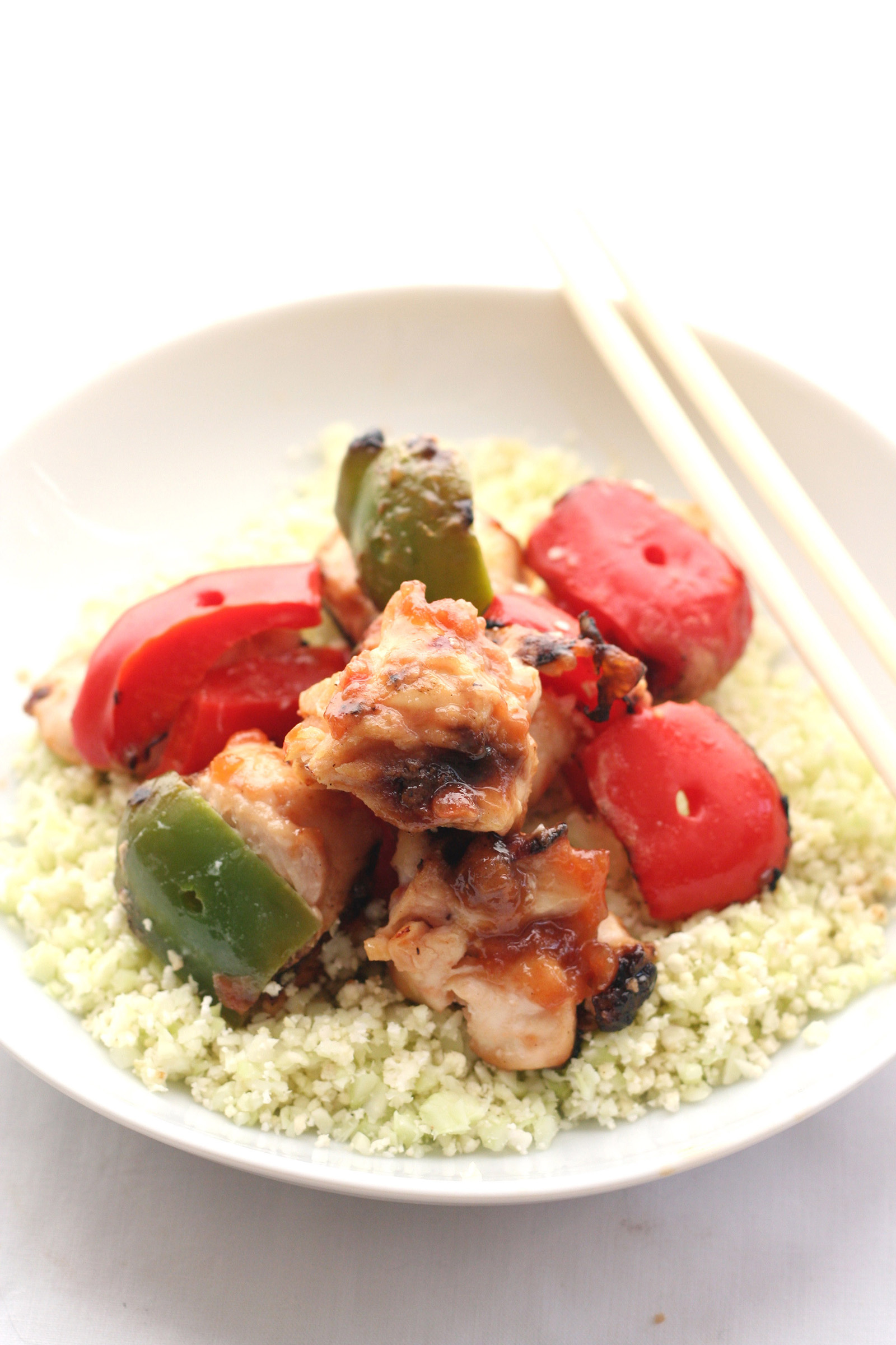 Sweet & Sour Chicken Skewers