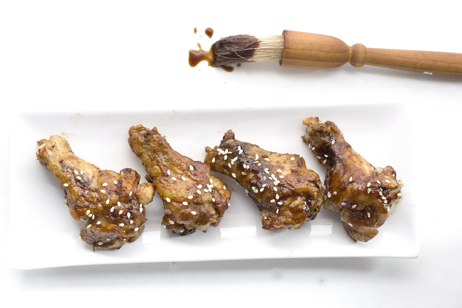 Oven-Baked Teriyaki Chicken Wings