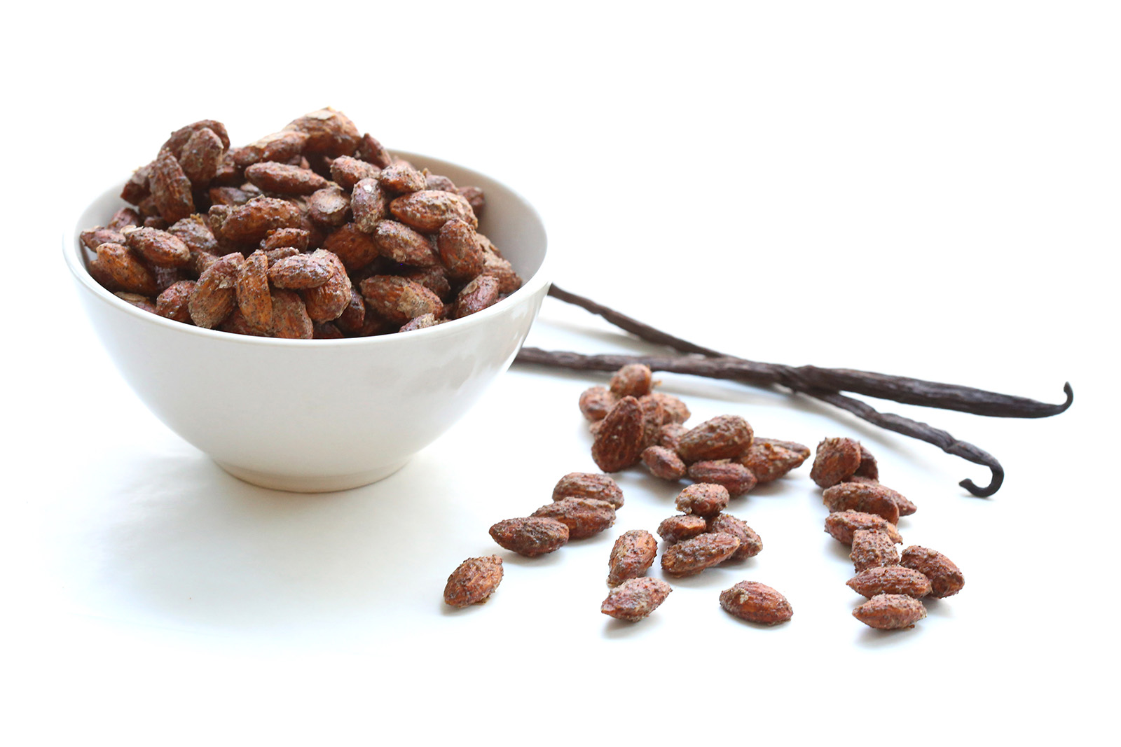 Vanilla Roasted Almonds